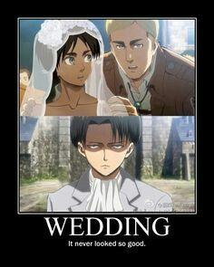 Ereri wedding
