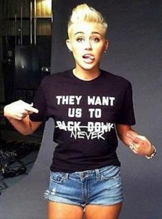 "Thursday September 6th 2012 -- 19 Year Old Miley Ray Cyrus Says, ""ROCK THE VOTE""!"