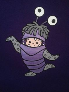 Monsters Inc. Boo T-shirt - IMAGE REPRODUCTION TECHNIQUES - Knitting, sewing, crochet, tutorials, children crafts, papercraft, jewlery, needlework, swaps, cooking and so much more on Craftster.org