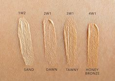 Image result for double wear shades Estee Lauder Foundation, Double Wear, Hair And Nails, Dawn, Swatch, Beauty Makeup, Health And Beauty, Make Up, Skin Care