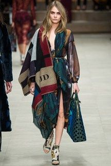 Cara Delevingne for Burberrry @Jenny Beck You need one of these blankets x