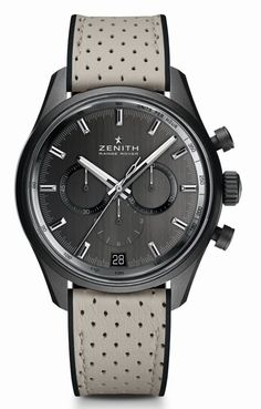 TimeZone : Industry News » N E W M o d e l - Zenith El Primero for Range Rover Special Edition