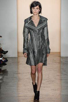 Peter Som FW 2014. One of the simpler numbers from the collection.