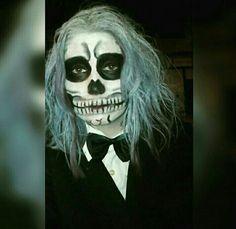 Calavera halloween maquillaje