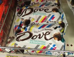 Dove Sea Salt Caramel & Dark Chocolate Promises (Summer Packaging)