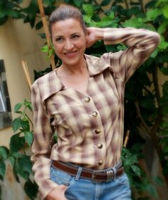 Chic, modern and country shirt