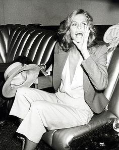 Lauren Hutton via @WhoWhatWear