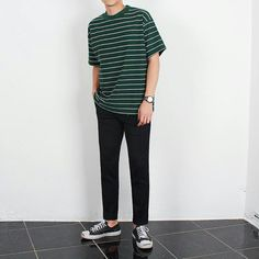 peg fashion Boy Outfits, Casual Outfits, Men Casual, Fashion Outfits, Korean Fashion Men, Mens Fashion, Teen Boy Fashion, Look Man, Streetwear Fashion
