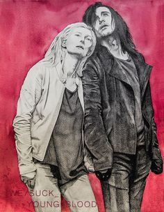 Only Lovers Left Alive, How To Disappear, Young Blood, Radiohead, Loki, Teen, Fan Art, Illustration, Painting