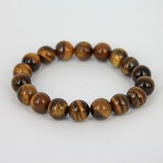 Tiger Eye Gemstone Boho Bracelet by Gems-B