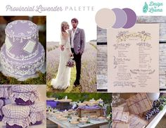 Provincial Lavender, an afternoon #wedding with romantic details from the Provence