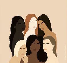 Portrait Illustration, Digital Illustration, Abstract Face Art, Black Art Painting, Arte Sketchbook, Feminist Art, Aesthetic Art, Female Art, Art Inspo
