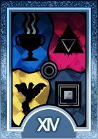 Persona 3/4 Tarot Card Deck HR - Temperance Arcana by Enetirnel