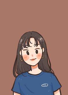 Cartoon Girl Drawing, Girl Cartoon, Cartoon Drawings, Cute Drawings, Cute Art Styles, Cartoon Art Styles, Cute Illustration, Character Illustration, Character Art