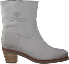 Witte Shabbies korte laarzen 201018
