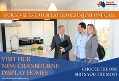 Visit our new Cranbourne #displayhomes, and choose the one suits you the most.