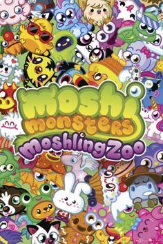 Moshi Monsters Moshling Zoo - plakat - 61x91,5 cm  Gdzie kupić? www.eplakaty.pl