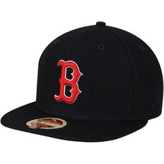 Boston Red Sox New Era American League East 59FIFTY Fitted Hat - Navy