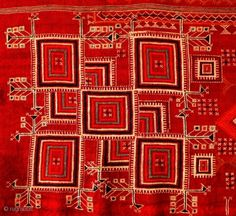 ANTIQUE SHEKHAWATI SHAWL - Textile Art from Rajasthan