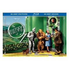 The Wizard of Oz (70th Anniversary Ultimate Collector's Edition) [Blu-ray] --- http://www.amazon.com/Anniversary-Ultimate-Collectors-Edition-Blu-ray/dp/B000Q66J1W/?tag=RCRT20