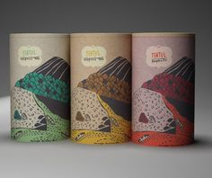 Tea packaging by Khadia