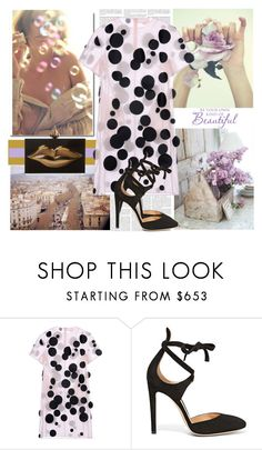 """Lavender"" by curlysuebabydoll ❤ liked on Polyvore featuring Paskal, Gianvito Rossi and Charlotte Olympia"