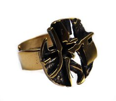 Bronze ring by Jorma Laine, - brand new 20 Euros