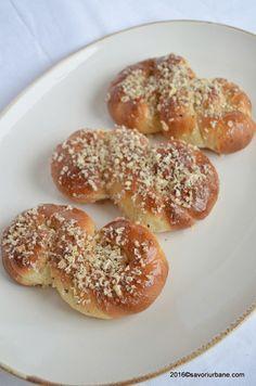 Mucenici moldovenesti de post   Savori Urbane Did You Eat, Bagel, Doughnut, Sweets, Bread, Vegan, Desserts, Recipes, Romania