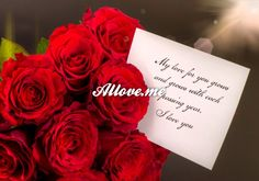 My love for you grows, and grows with each passing year. I love you I Love You, My Love, Rose, Flowers, Cards, Wedding, Valentines Day Weddings, Pink, Je T'aime