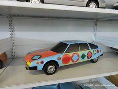 OG | 1974 Citroën CX | Painted scale mock-up at the Conservatoire