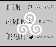 Resultado de imagem para tattoo tres coisa nao podem ficar escondidas muito tempo o sol a lua a verdade