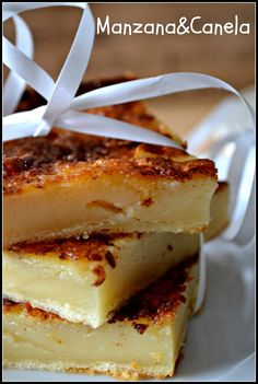 Apple & Cinnamon: Quesada pasiega: my mother's recipe Flan, Delicious Desserts, Yummy Food, American Desserts, Pan Dulce, Latin Food, Mocca, Piece Of Cakes, Love Food