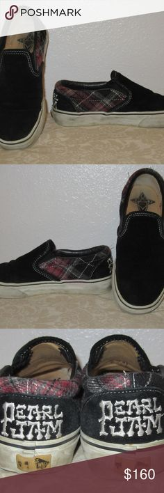 b6b4d42d6687 Vans X Pearl Jam Limited Edition US Mens Sz 6.5 good shape  shows wear and