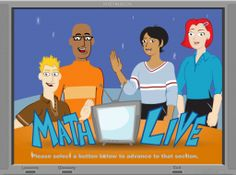 Math Live is a web site that 3rd-6th grade teachers should look at whenever they are starting a new unit.  It's packed with great TV like episodes in a cartoon format introducing many different math concepts.