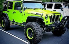 Jeep Rubicon. This is one of the coolest jeeps I have ever seen!!