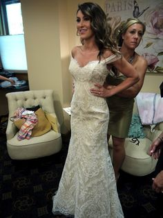 """Gorgeous lace dress....for all you pinner friends who keep pinning lace bridal gowns in that """"someday"""" folder ;)"""