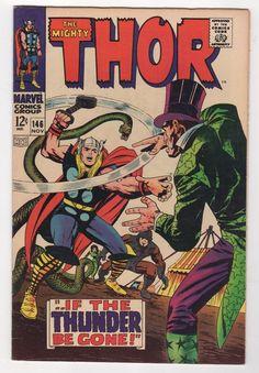Thor 146 Origin of The Inhumans 1967 Marvel Comics F VF   eBay
