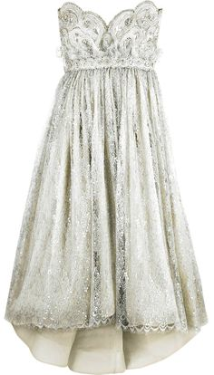 antique style dress with a touch of sparkle