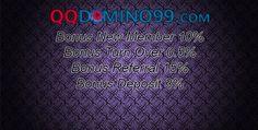 QQDOMINO99.com adalah sebuah Agen yang menyediakan jenis permainan Judi Domino QQ Online Terpercaya , Domino 99 menggunakan kartu Domino Min Deposit 10rb.