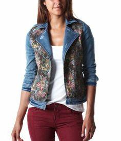 Tapestry Jacket (aka. wearable carpet bag) @ promod
