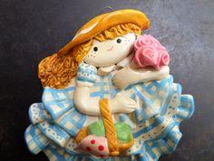 ceramic girl wall hangingceramic girl wall от CodettiSupply