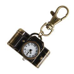 Yesurprise Charm Camera Quartz Pocket Key Chain Ring Watch Pendant Kids Gift Yesurprise. $8.44