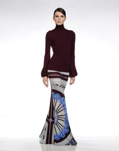Long skirt Women - Skirts Women on EMILIO PUCCI Online Store    (Pucci is breathtaking. Love.)