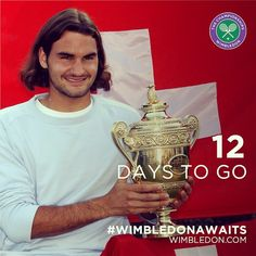 Roger Federer captured the first of his seven #Wimbledon titles 12 years ago. Will 2015 bring an eighth crown? #WimbledonAwaits #12daystogo