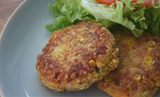 Potato free tuna patties
