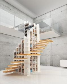 #Staircase  #Library designed by DesignWeld. What do you think? ///  #Escalera multifuncional diseñada por DesignWeld. Qué Opinas?  Tag a Friend! #d_signers  by d.signers