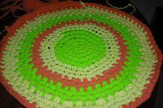 alfombra circular para baño