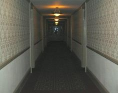 """The Overlook Hotel Hallway (The Hotel From """"The Shining""""."""