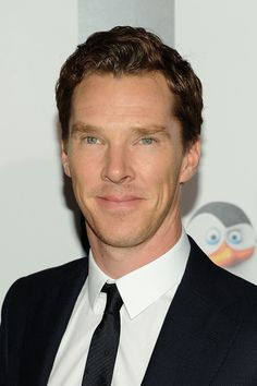 PENGUINS OF MADAGASCAR (2014) ~ Benedict Cumberbatch at the New York City premiere on November 16, 2014.