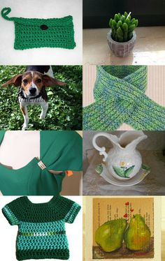Next Holiday is for Green Gifts :) by Kathy Neilson Designer Purses By Kathy LLC on Etsy--Pinned with TreasuryPin.com